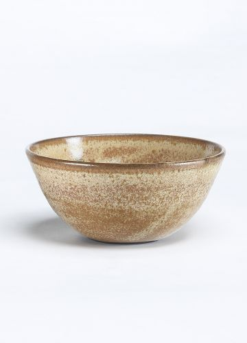 Ceramic Small Bowl in Rutile Glaze