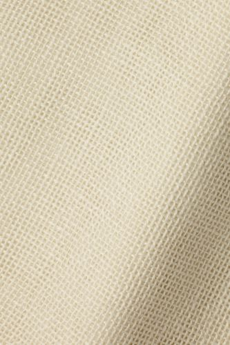 Sheer Linen in Cross Hatch