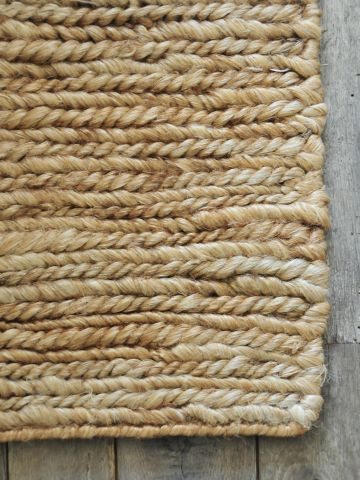 Hand Woven Soumak Hemp Rug by Rose Uniacke