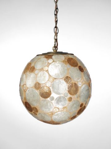 Mother of Pearl Hanging Lantern