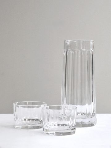 Water Jug & Glasses