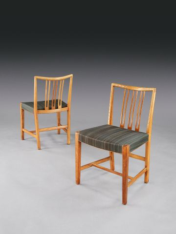 Early Set of Eight Dining Chairs by Hans Wegner