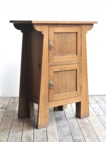 Belgian Arts & Crafts Side Cabinet