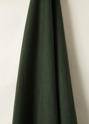 Heavy Weight Linen in Evergreen