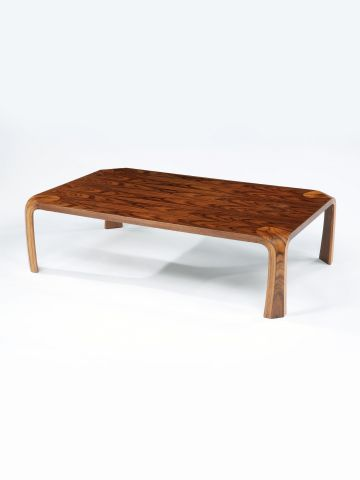 Plywood Coffee Table by Saburo Inui