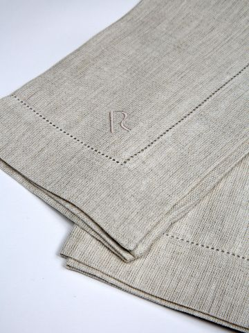 Natural Linen Napkin by Rose Uniacke