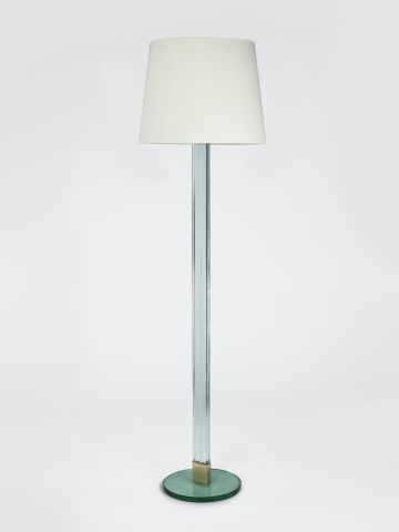 Glass Standard Lamp by Luigi Brusotti