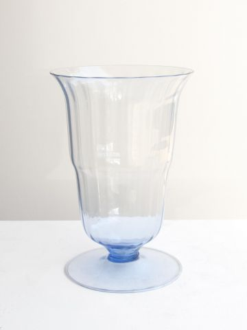 1920's Murano Glass Vase by M.V.M. Cappellin