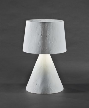 Plaster Table Lamp by Rose Uniacke