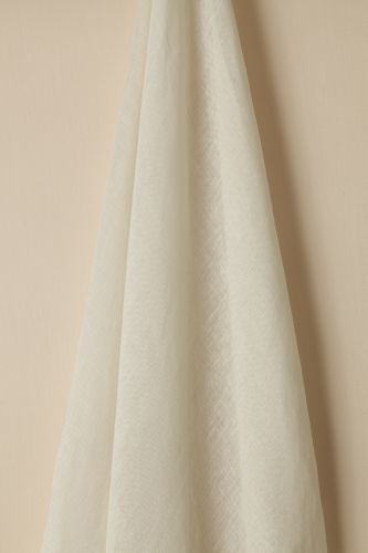 Sheer Linen in Ghost by Rose Uniacke