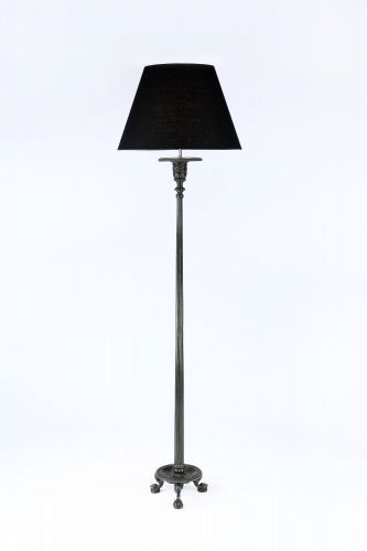 Neo-Classical Patinated Bronze Tripod Lamp