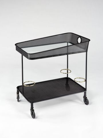 Rare Rigitulle Drinks Trolley by Mathieu Mategot