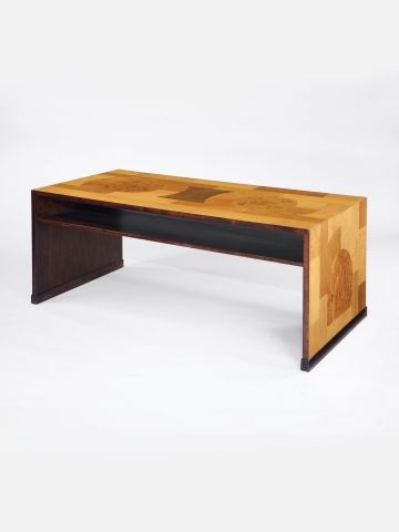 Swedish Art Deco Veneered Writing Desk