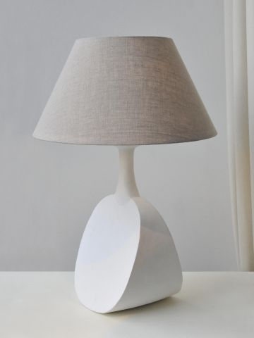 'White Capri' Table Lamp by Isabelle Sicart