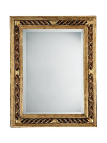 Unsual Baroque Style Spiral Mirror