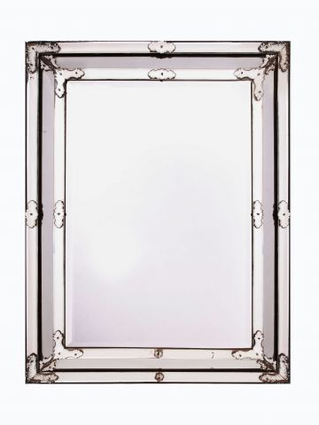 Late 19th Century Venetian Glass Border Mirror
