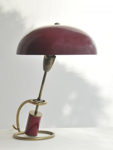 Office Table Lamp by Angelo Lelli