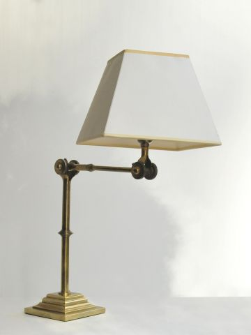 Extending Brass Reading Lamp