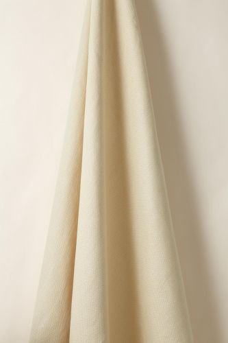 Heavy Weight Linen in Jersey Cream