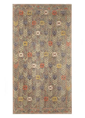 'Rågen' - A Linen & Wool Textile Panel Designed by Märta Måås Fjetterström