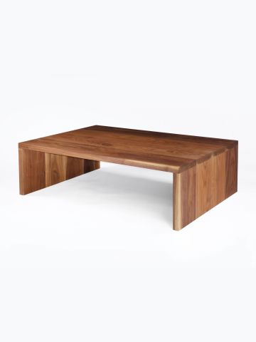Large Walnut Coffee Table