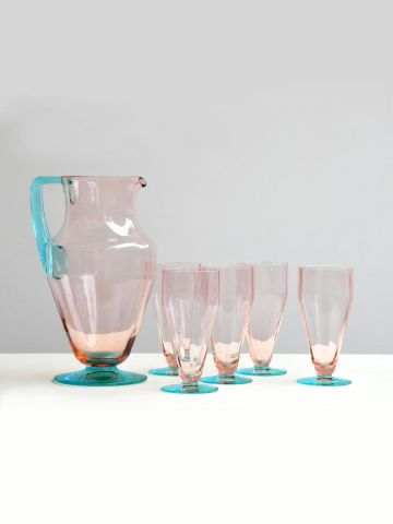 Lemonade Set by Moser
