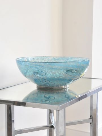 Large Monart 'Paisley Shawl' Bowl