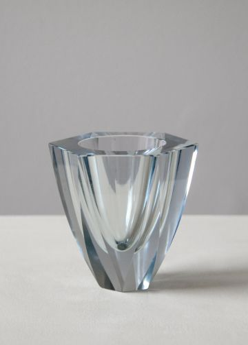 Swedish 'Cut Crystal' Vase