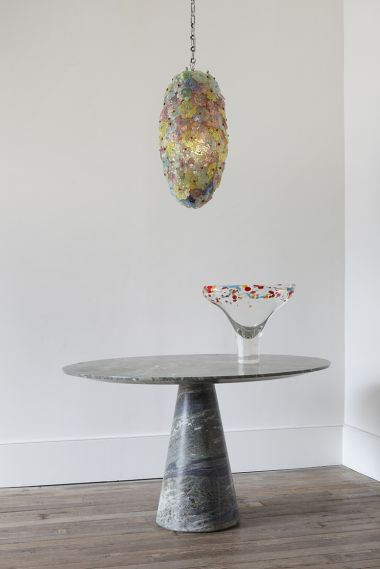 The Green Marble Centre Table by Rose Uniacke_1
