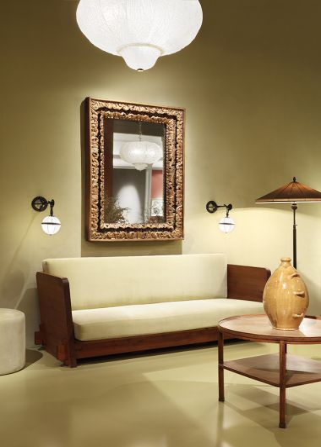 Carved, Gilded & Polychrome 'Cassetta' Frame_0