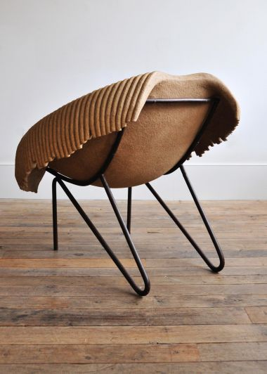'Up-Cycled' Tub Chair by Domingos Totora_3