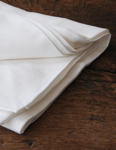Square Tablecloth in 'Frost' Linen_2