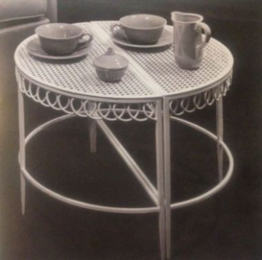 "Pair of ""Half Moon"" Coffee Tables by Mathieu Matégot_1"