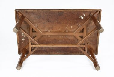 Cotswold School 'Hayrake' Dining Table_1