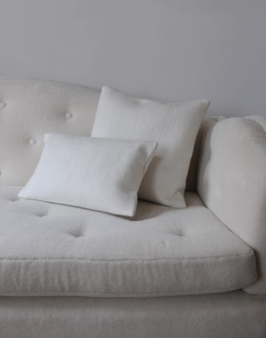 Small Felted Cashmere Scatter Cushion_0