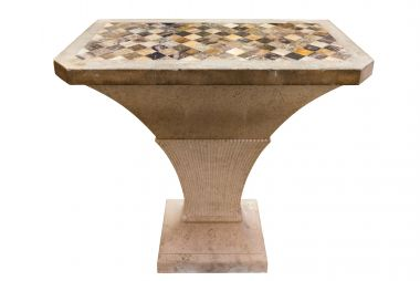 George III Portland Stone, Blue John Marble Table at Rose Uniacke