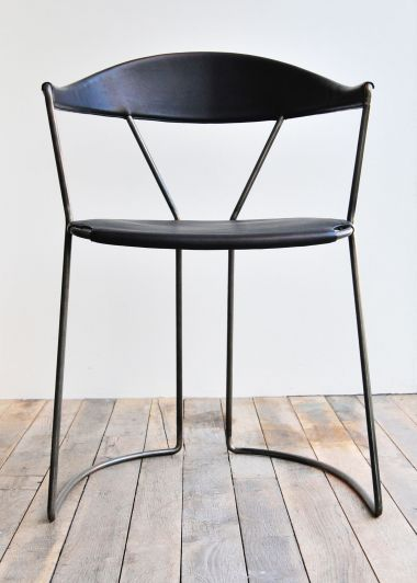 Y Chair in Black by Rose Uniacke_3