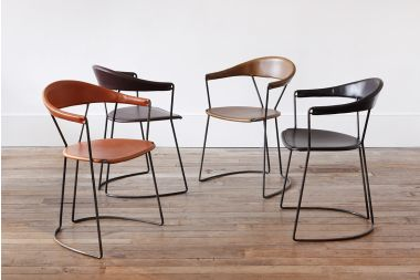 Y Chairs in various colours by designer rose uniacke
