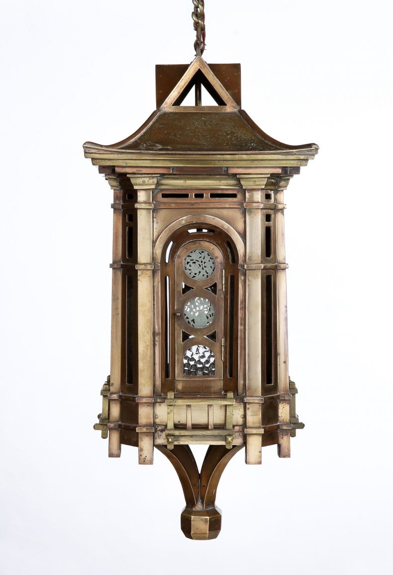 Aesthetic Period Hall Lantern_0