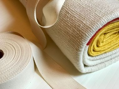 Orange Stripe Cashmere Blanket_3