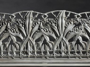 "Cast Iron ""Lilly of the Valley"" Garden Bench_2"