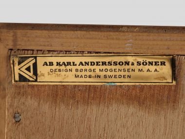 Pair of 1960's Swedish Oak Chest of Drawers_3
