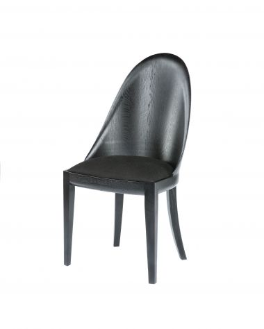 Ebonised Theatre Chair_1