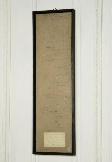 Framed Section of 18th Century Wall Panelling_0