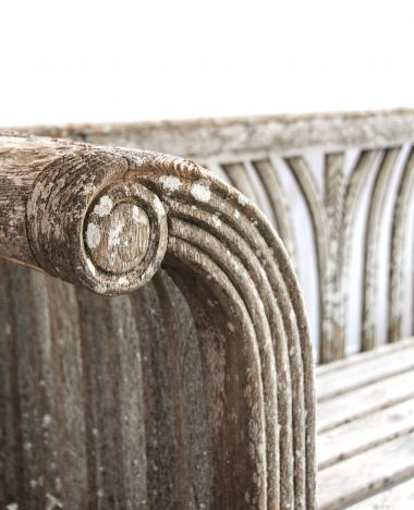 Regency Slatted Oak Garden Bench_1