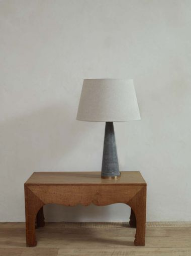 Natural Linen Drum Shade_3