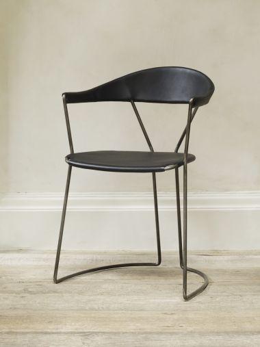 Y-Chair in Black by Rose Uniacke_0