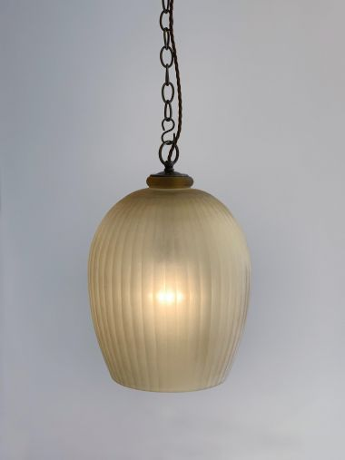 Citrine Glass Lantern by Rose Uniacke_2