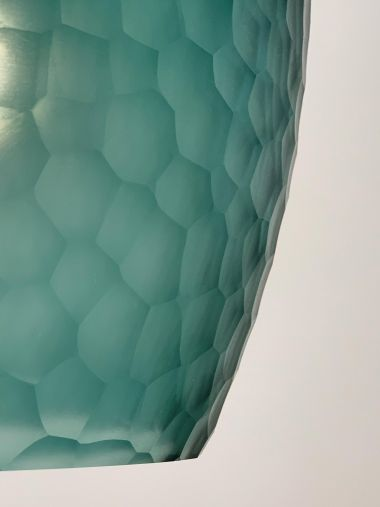 Honeycomb Glass Lantern by Rose Uniacke_1