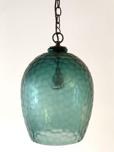 Honeycomb Glass Lantern by Rose Uniacke_4